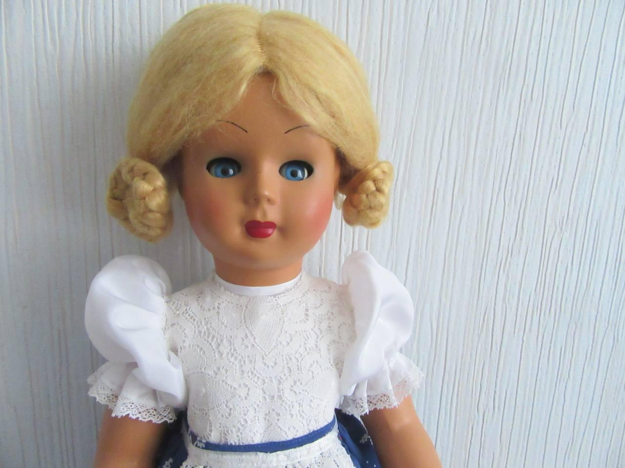 Афина (реставрация старой итальянской куклы)