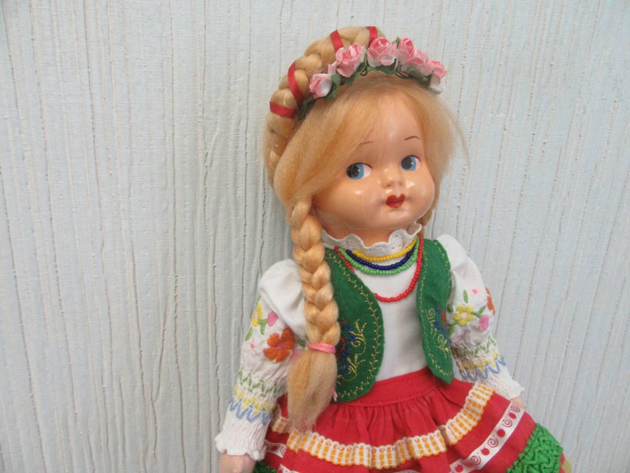 Реставрация старой польской куклы