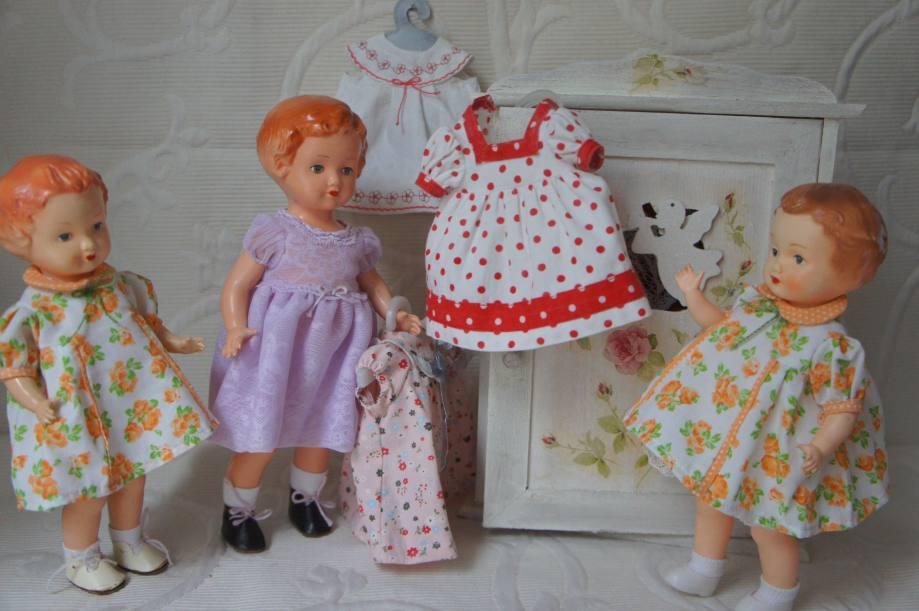 Фасоны платьев для кукол в стиле 50-60-х годов