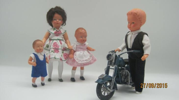 Принципы создания образов винтажных кукол