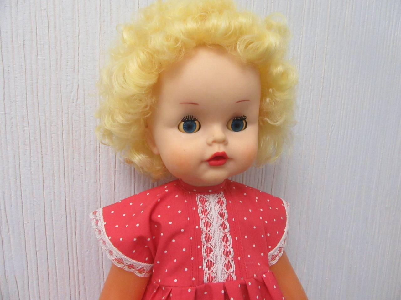 Реставрация большой куклы