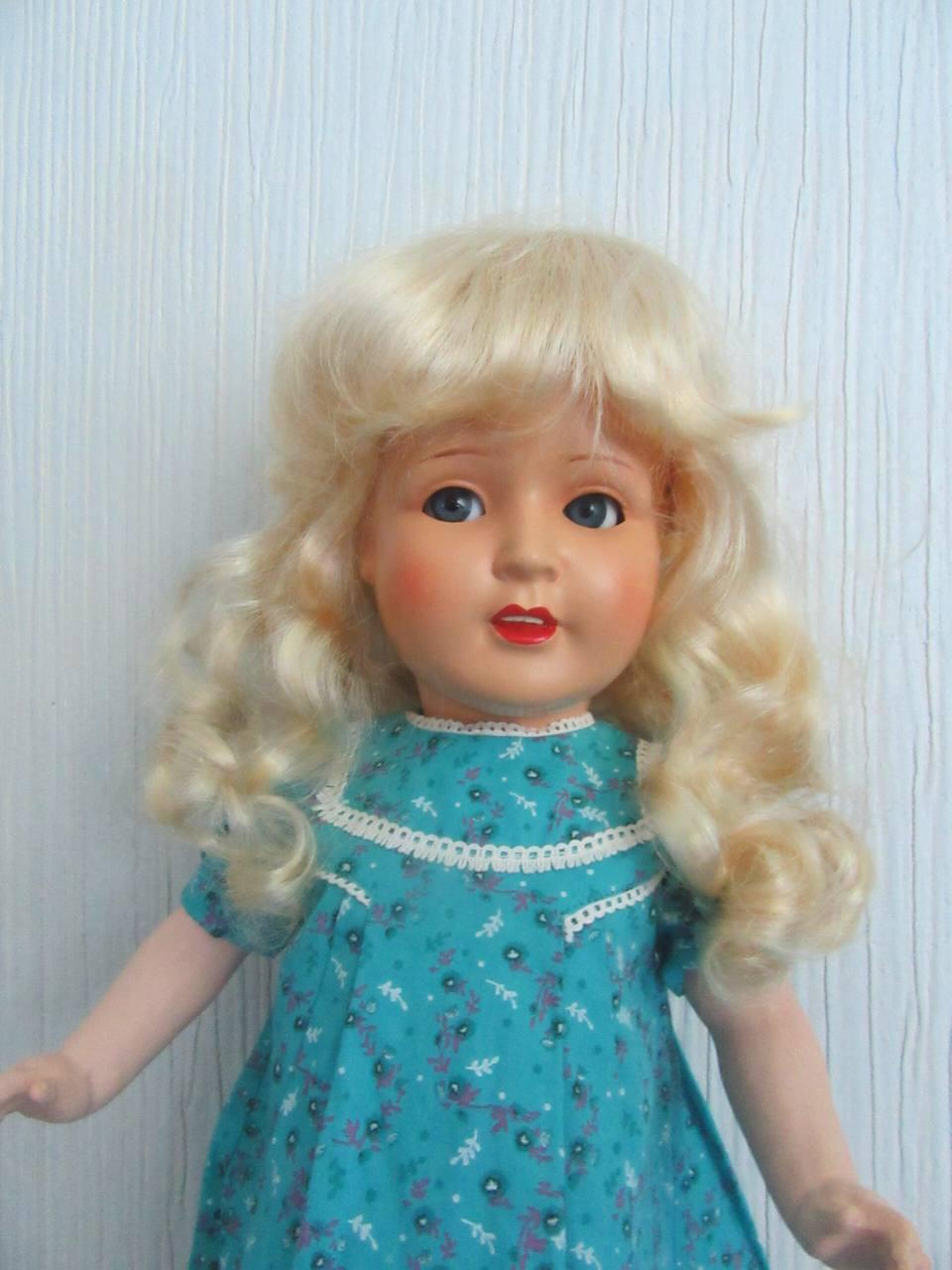 Винтажная кукла Roschi