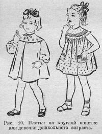 Мастерская Мимидол.  Ручной пошив винтажной одежды для кукол и ремонт кукол. Блог Красновой Натальи. vikroyka-krugloy-koketki-dlya-devochki